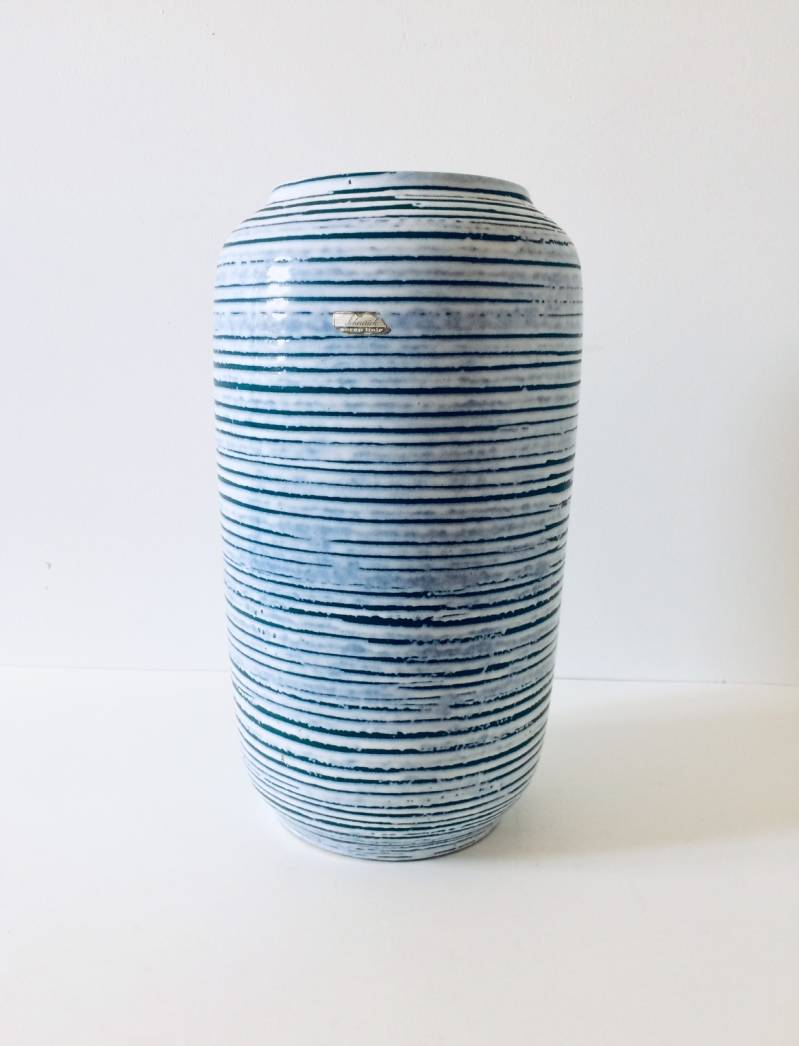 Vintage 1960's West Germany Scheurich Design Ceramic Vase 546-40