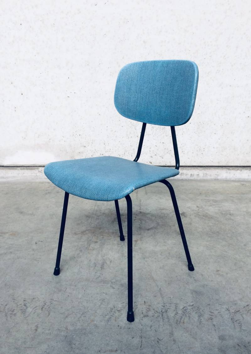 Vintage Midcentury Modern Design Kitchen Chair, France 1950's
