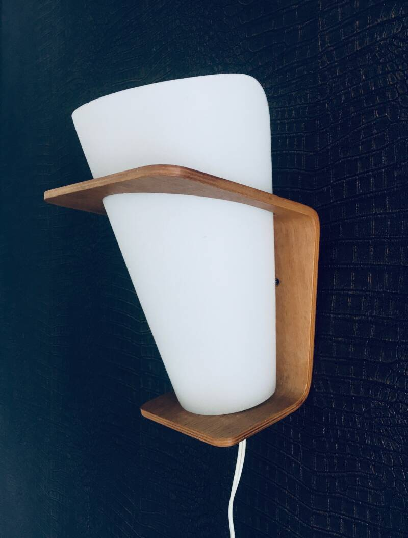 MCM Design Wall Lamp NX 41 by Louis Kalff for Philips, Holland 1960's