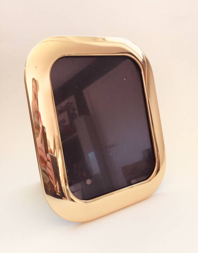 Hollywood Regency Style SOLIDBRASS Picture Photo Frame 1970's