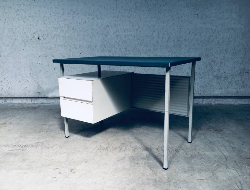 Gispen 3803 Small Metal Writing Desk by Andre Cordemeyer 1950's