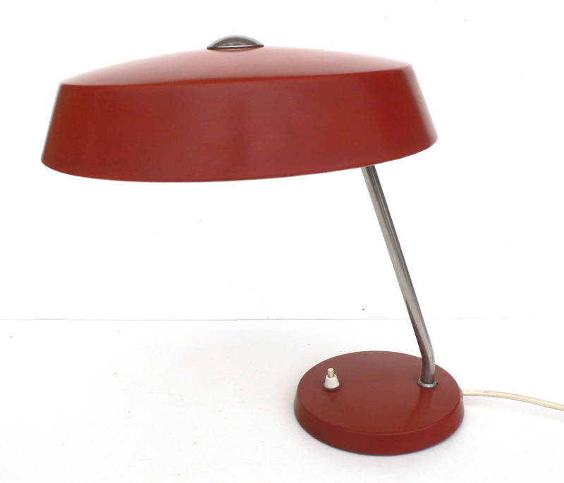 1950's Louis Kalff Design Office Desk Table Lamp
