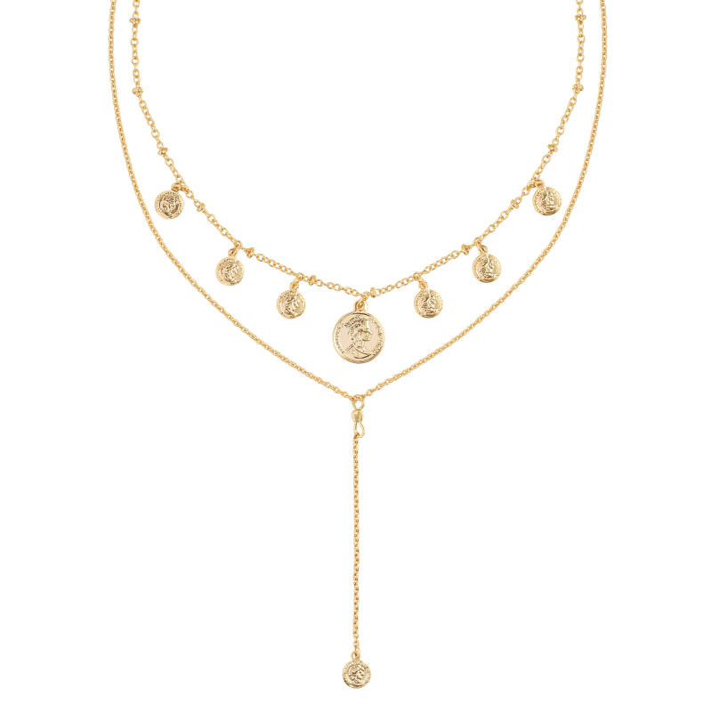 Ketting 'Coins Double'