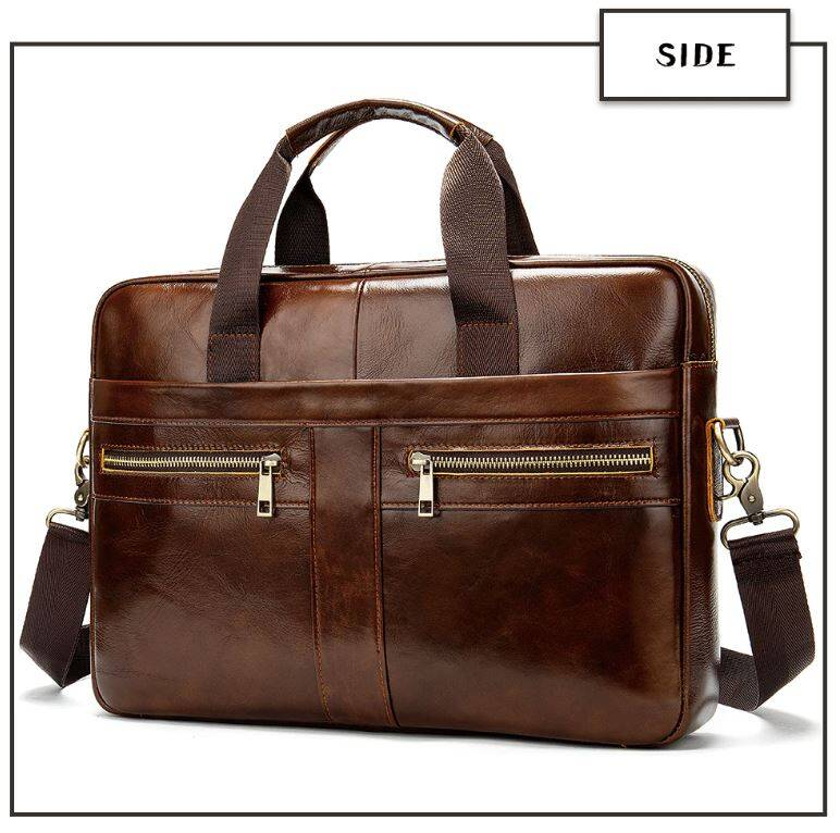 Lederen Design Laptop Tas (YLT001)