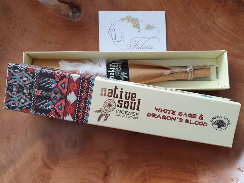 Native Soul ~ White Sage & Dragon's Blood