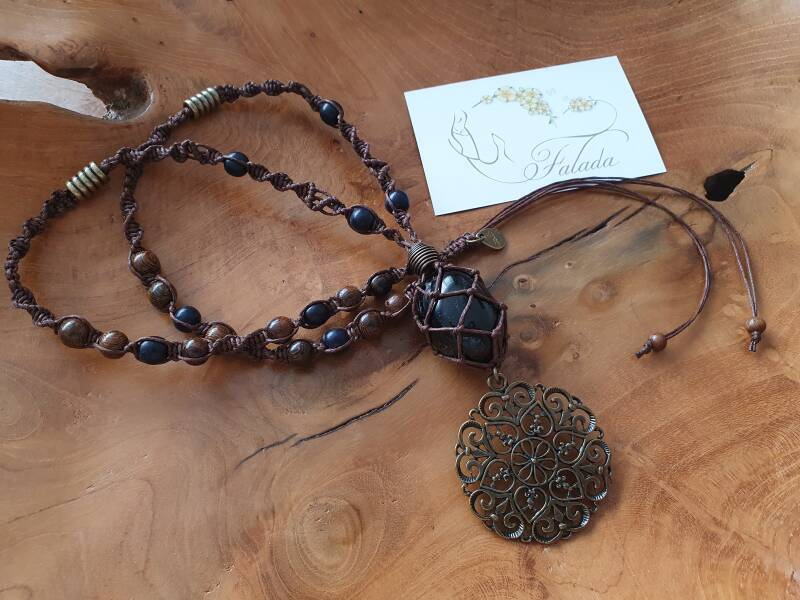 Falada's ~ Boho Black Tourmaline XL