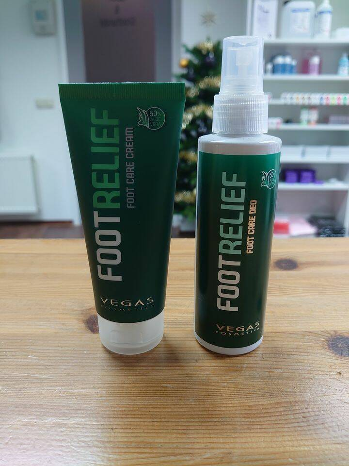 Foot Care Cream met Ureum + Foot Care Deo