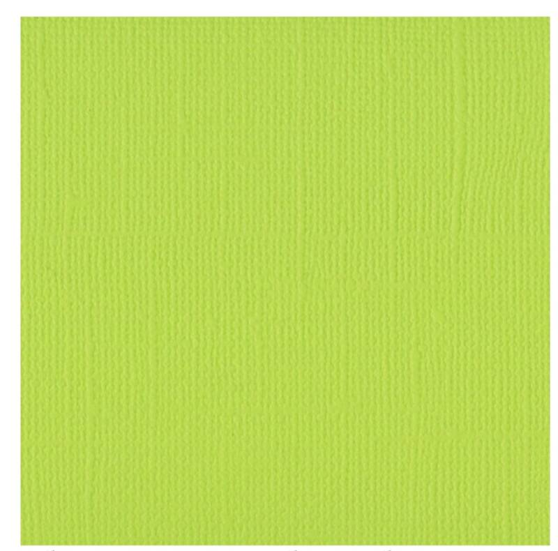Cardstock Florence Texture  Lime 30,5 x 30,5 cm  216 gram