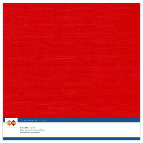 Cardstock F Rood