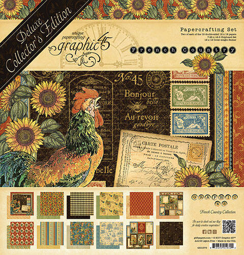 Graphic 45 Franse Country Deluxe Collector's Edition (4501579)