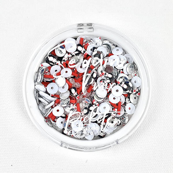 Picket Fence Studios Penguins Come to Christmas Sequin Mix (SQC-104)
