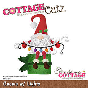 Scrapping Cottage Gnome with Lights (CC-786)