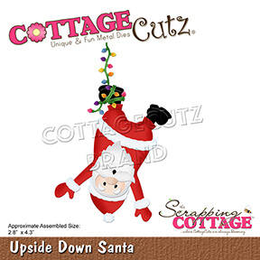 Scrapping Cottage Upside Down Santa (CC-795)