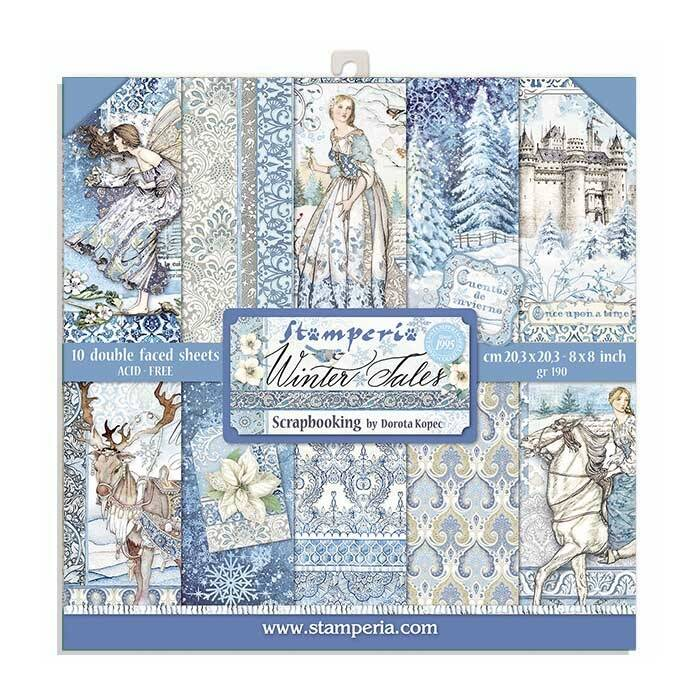 Stamperia Winter Tales 8 inch paperpack