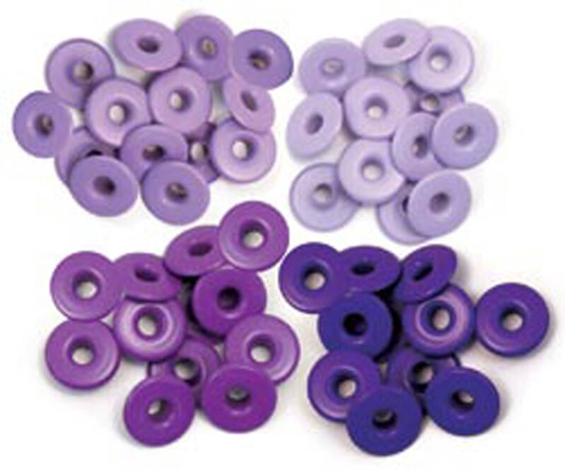 We R Memory Keepers Purple Crop-A-Dile Wide Eyelet (40pcs) (41591-6)