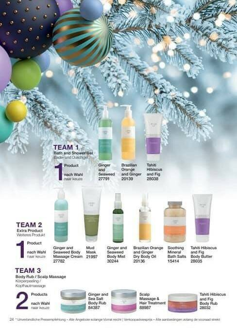 Spa Christmas set deluxe