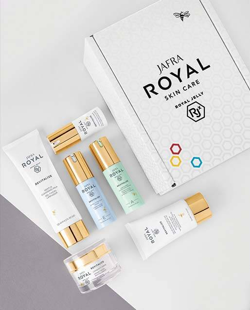 Royal Skincare Giftbox met bon Revitalize