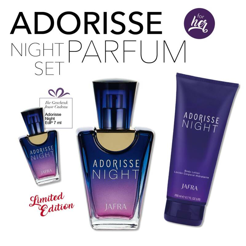 Adorisse night parfum set