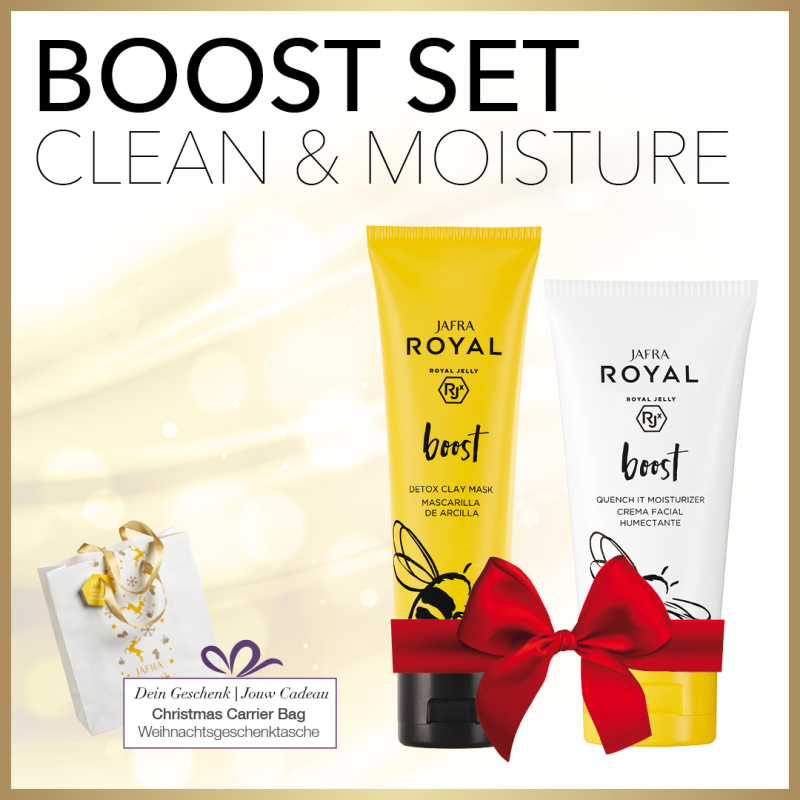 Boost Set Clean & Moisture