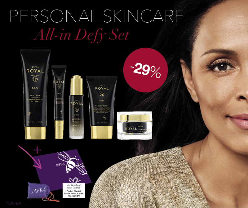 All in DEFY set + cadeautje