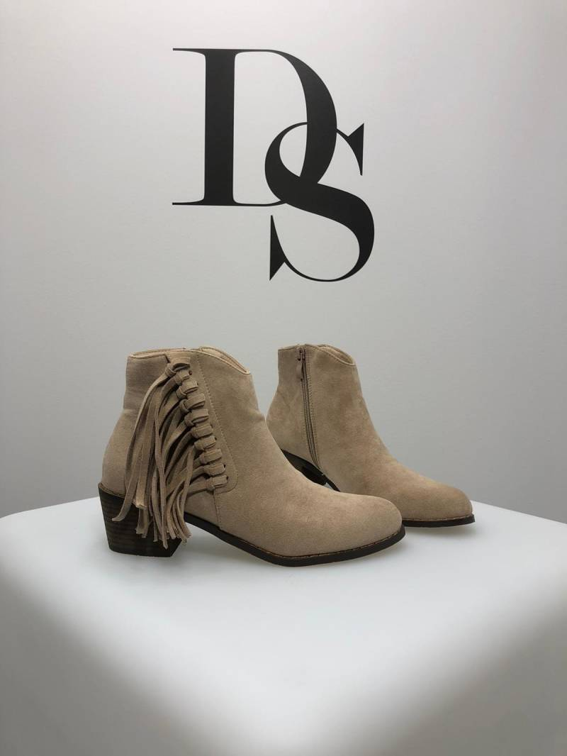 Western boots beige DS029