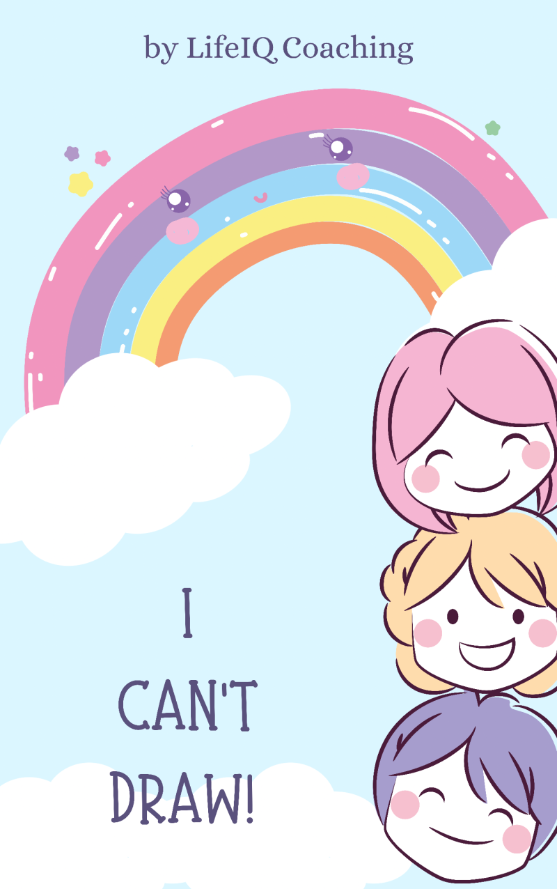 I Can't Draw! Children's Book.