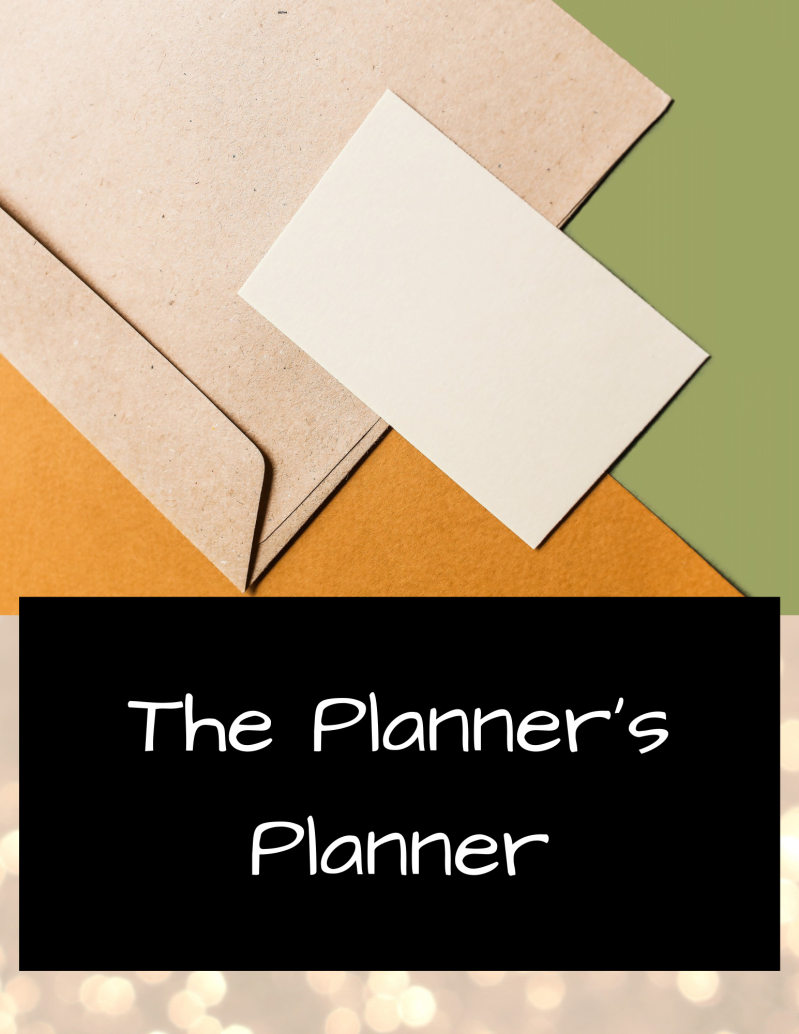 The Planner's Planner