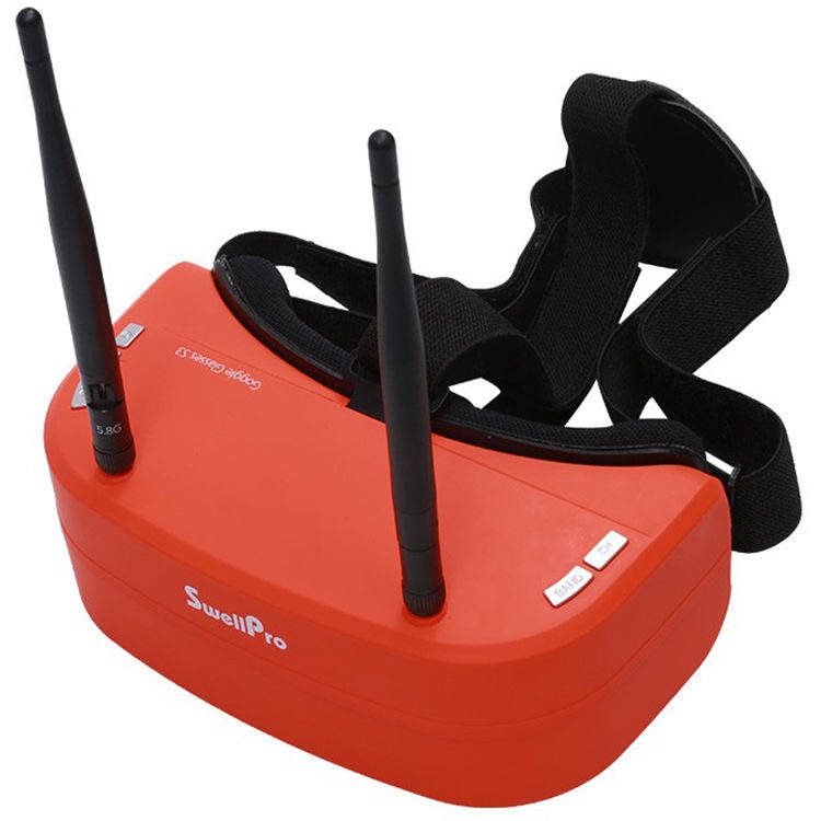 Virtual Reality Goggles S3 voor Spry+ & SplashDrone 3+