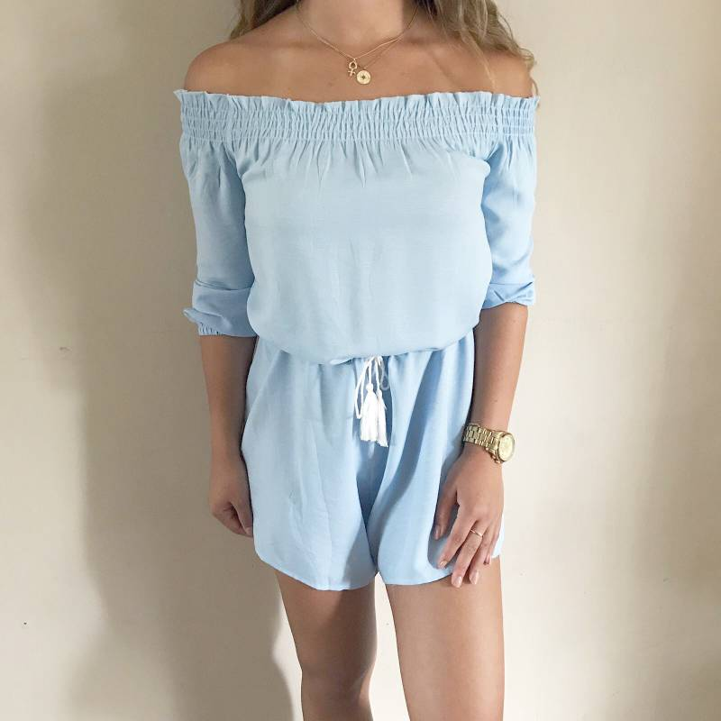 Ocean playsuit