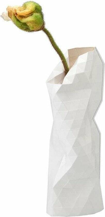 Paper Vase Cover Small - White (small)