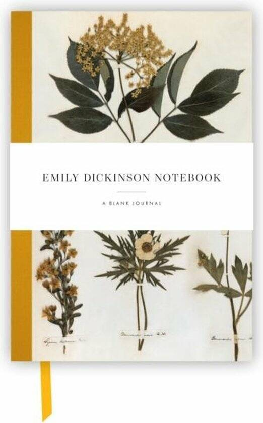 Emily Dickinson Notebook - a blank journal inspired by the poet's writings and gardens