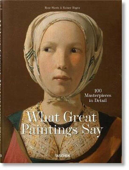 What Great Paintings Say. 100 Masterpieces in Detail 100 Masterpieces in Detail  Uitgever: Taschen Gmbh Co-auteur: Rose-Marie Hagen Rainer Hagen • Engels  • Hardcover  • 9783836577496  • mei 2020  • 762 pagina's  This important addition to our unders