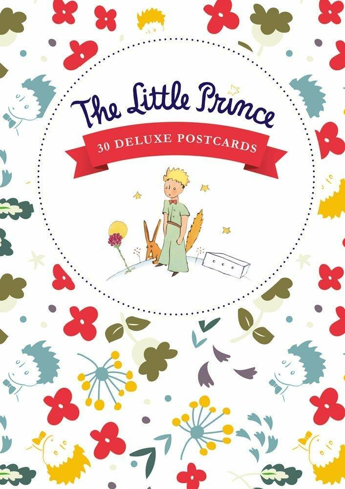 The Little Prince Postcards 30 Deluxe Postcards