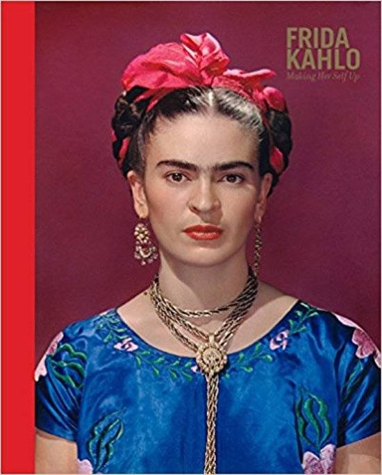 Frida Kahlo Making Her Self Up