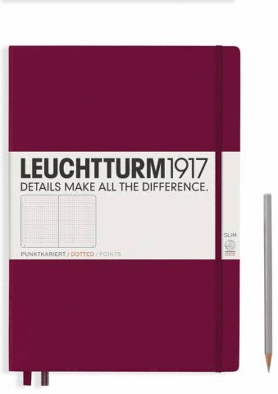 Leuchtturm1917 Notitieboek A4 / Master Slim - Dotted