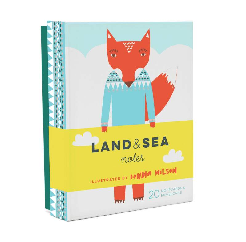 Land & Sea Note Cards
