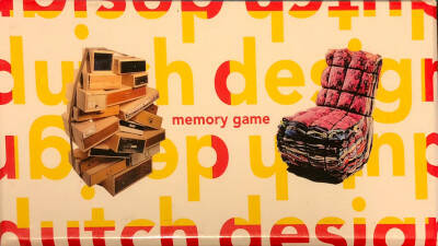 Dutch Design Memory Game