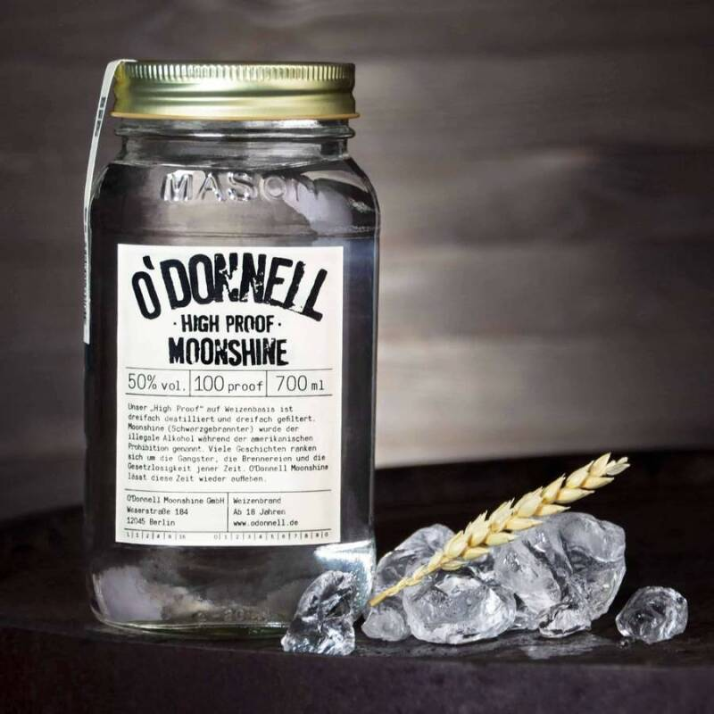 O'Donnell Moonshine High Proof Weizenbrand