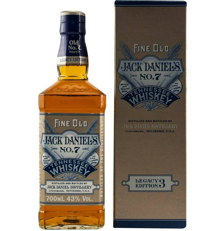 Jack Daniel's Old No. 7 - Legacy Edition No. 3 Tennessee Whiskey