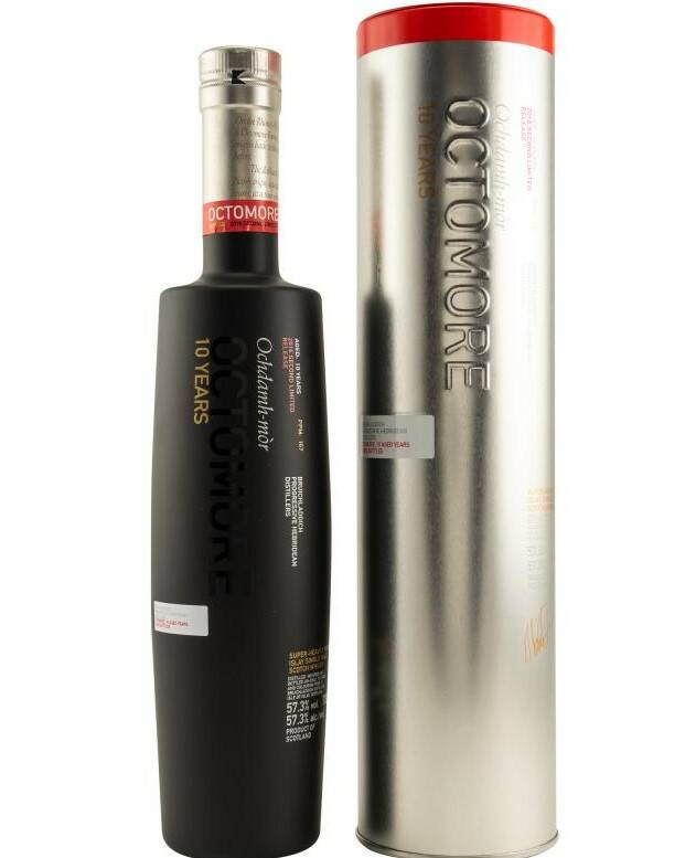 Octomore 2nd Edition 10 Jahre 2005/2016 Single Malt Whisky