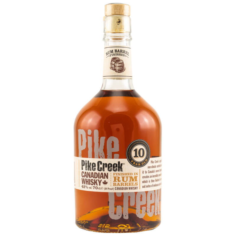 Pike Creek 10 Jahre Rum Finish (andere Ausstattung) Canadian Whisky
