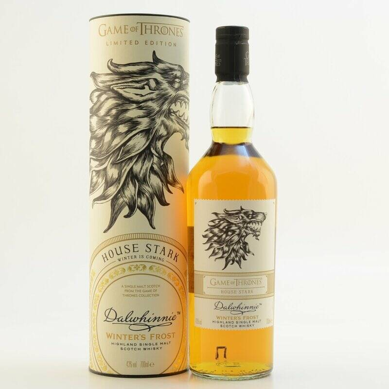 Dalwhinnie Select Reserve House Stark - Game of Thrones Single Malt Whisky