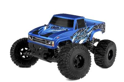 Team Corally - TRITON SP - 1/10 Monster Truck 2WD - RTR - Brushed Power - Zonder accu en lader.
