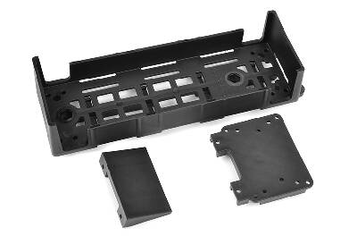 Team Corally - Battery ESC Tray - V2 - Large - Composite - 1 Pc C-00180-615