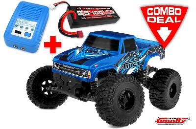 TRITON SP Combo - Met lipo batterij: TC Power Racing 50C 2S 5400mAh Lader: Pulsetec Mega 50.