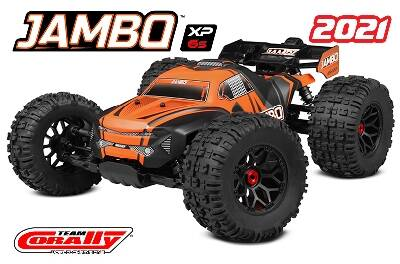 Team Corally JAMBO XP 6S 1/8 RTR - Brushless Power 6S