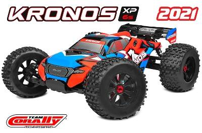 Team Corally - KRONOS XP 6S 1/8 RTR - Brushless Power 6S - 2021 model