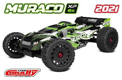 Team Corally - MURACO XP 6S - 1/8 Truggy LWB - RTR - Brushless Power 6S