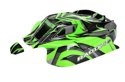Team Corally - Polycarbonate Body - Radix 4 XP - Painted - Cut - 1 pc C-00185-375-2