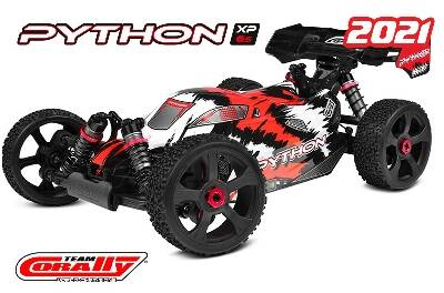 Team Corally PYTHON XP 6S 1/8 RTR - Brushless Power 6S